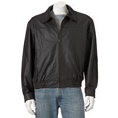 Big & Tall Vintage Leather Split Nappa Leather Jacket by