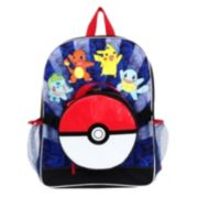 Pokemon Pokeball Backpack & Lunch Bag Set - Kids