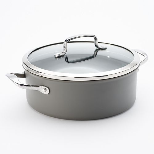 Food Network™ 5-qt. Hard-Anodized Nonstick Aluminum Chili Pot