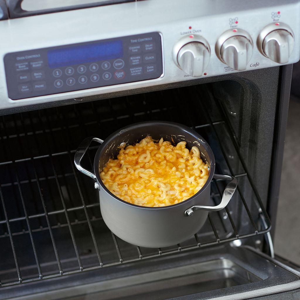 Food Network™ 3.5-qt. Hard-Anodized Pour & Strain Soup Pot