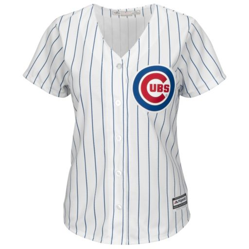 Women's Majestic Chicago Cubs Cool Base Replica Jersey