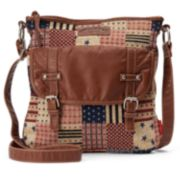 Unionbay Americana Patchwork Crossbody Bag