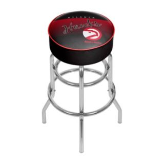 Atlanta Hawks Hardwood Classics Padded Swivel Bar Stool