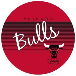 Chicago Bulls Hardwood Classics Padded Swivel Bar Stool