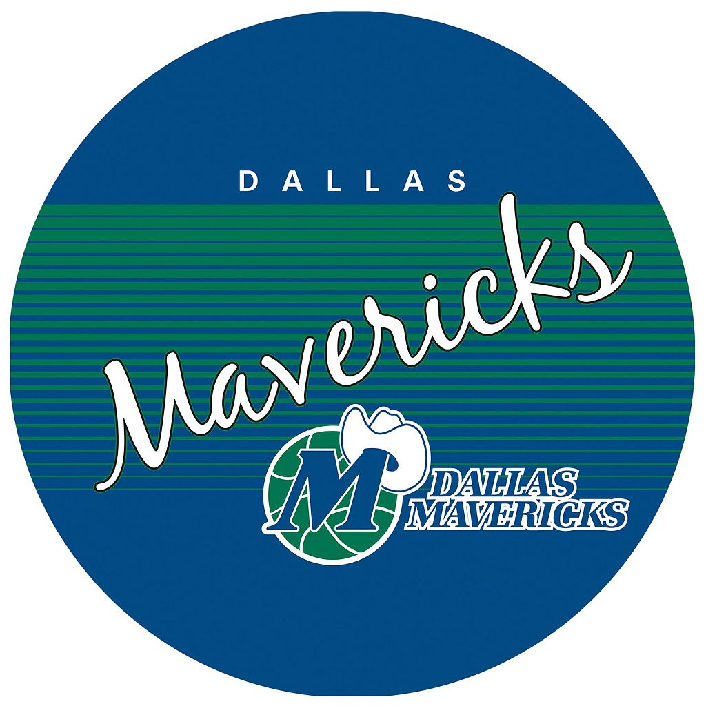 Dallas Mavericks Hardwood Classics Padded Swivel Bar Stool
