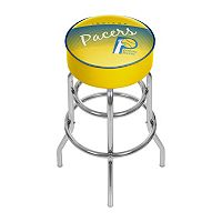 Indiana Pacers Hardwood Classics Padded Swivel Bar Stool