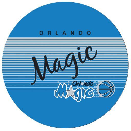 Orlando Magic Hardwood Classics Padded Swivel Bar Stool