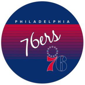 Philadelphia 76ers Hardwood Classics Padded Swivel Bar Stool