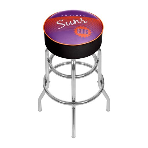Phoenix Suns Hardwood Classics Padded Swivel Bar Stool