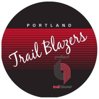 Portland Trail Blazers Hardwood Classics Padded Swivel Bar Stool