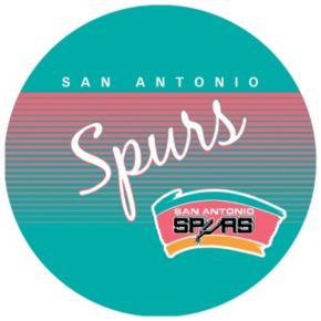 San Antonio Spurs Hardwood Classics Padded Swivel Bar Stool