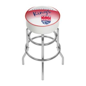 Sacramento Kings Hardwood Classics Padded Swivel Bar Stool