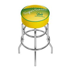 Seattle Super Sonics Hardwood Classics Padded Swivel Bar Stool