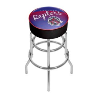 Toronto Raptors Hardwood Classics Padded Swivel Bar Stool