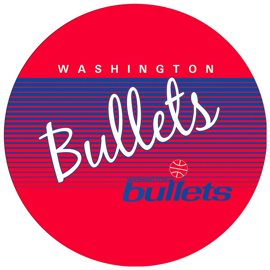 Washington Bullets Hardwood Classics Padded Swivel Bar Stool
