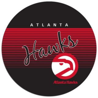 Atlanta Hawks Hardwood Classics Padded Swivel Bar Stool with Back