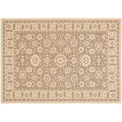 Safavieh Courtyard Oversized Floral Indoor Outdoor Rug