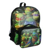 Teenage Mutant Ninja Turtles Backpack & Lunch Bag Set - Kids