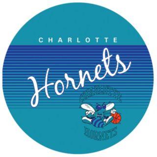 Charlotte Hornets Hardwood Classics Padded Swivel Bar Stool with Back