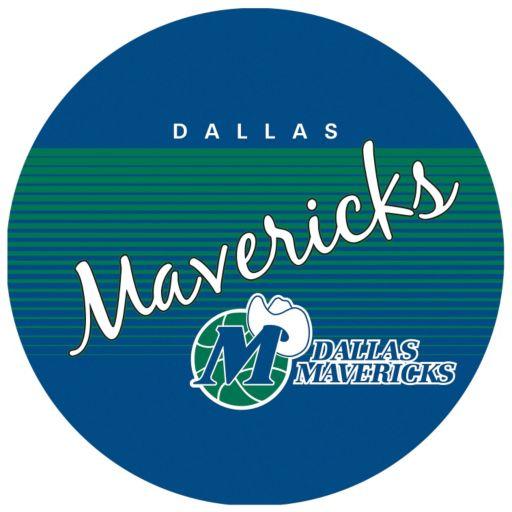 Dallas Mavericks Hardwood Classics Padded Swivel Bar Stool with Back