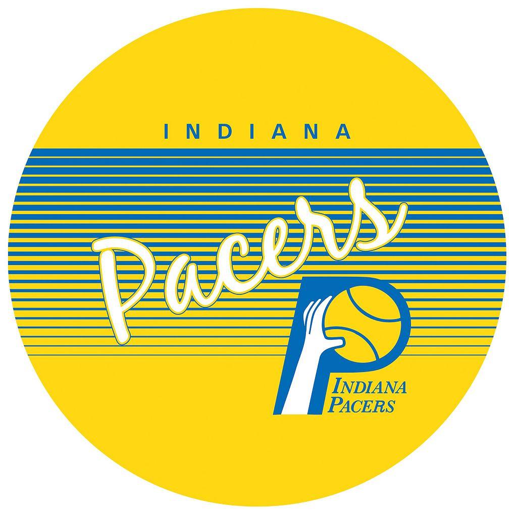 Indiana Pacers Hardwood Classics Padded Swivel Bar Stool with Back