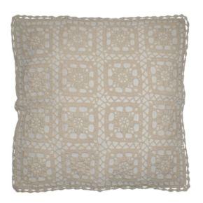 Christina Crochet Throw Pillow