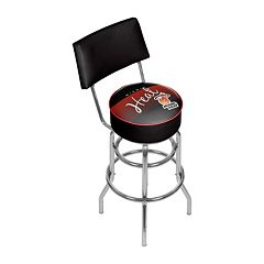 Miami Heat Hardwood Classics Padded Swivel Bar Stool with Back