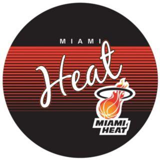 Miami Heat Hardwood Classics Padded Swivel Bar Stool with Back