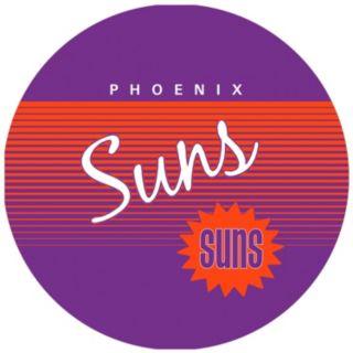 Phoenix Suns Hardwood Classics Padded Swivel Bar Stool with Back