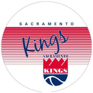 Sacramento Kings Hardwood Classics Padded Swivel Bar Stool with Back