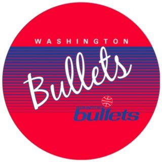 Washington Bullets Hardwood Classics Padded Swivel Bar Stool with Back