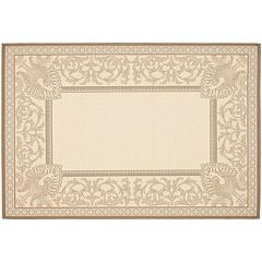 Safavieh Courtyard Vines Indoor Outdoor Rug