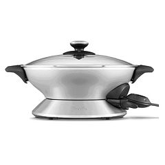 Breville the Hot Wok 6-qt. Nonstick Cast-Aluminum Wok