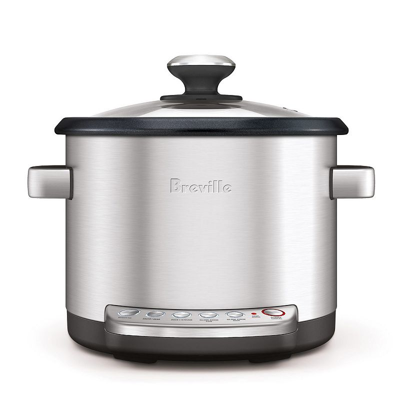 Breville the Risotto Plus 4-qt. Stainless Steel Digital Rice Cooker, Multicolor