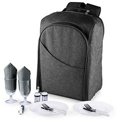 Picnic Time Colorado 15 pc Service for Two Insulated Picnic Backpack Set