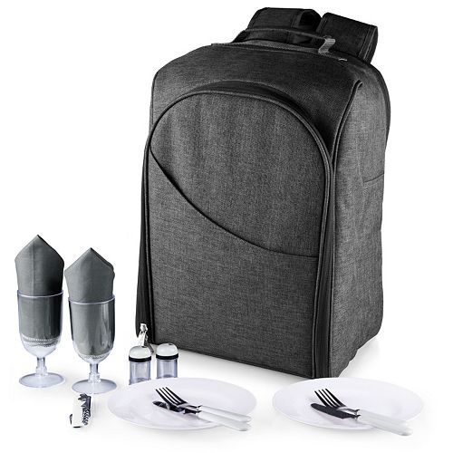 Picnic Time Colorado 15-pc. Service for Two Insulated Picnic Backpack Set