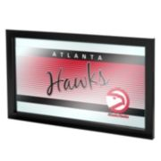 Atlanta Hawks Hardwood Classics Framed Logo Wall Art