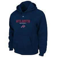 Big & Tall Majestic Atlanta Braves Take the Field Hoodie