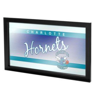 Charlotte Hornets Hardwood Classics Framed Logo Wall Art