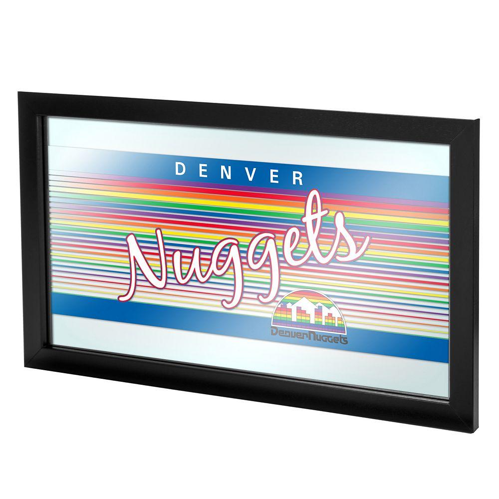 Denver Nuggets Hardwood Classics Framed Logo Wall Art