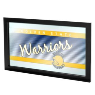 Golden State Warriors Hardwood Classics Framed Logo Wall Art