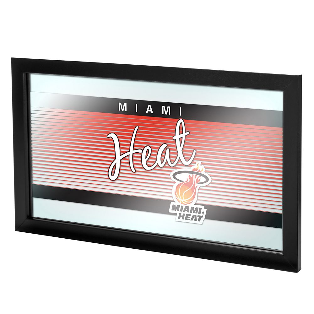 Miami Heat Hardwood Classics Framed Logo Wall Art