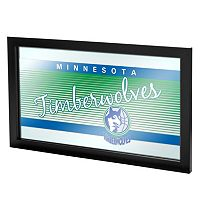 Minnesota Timberwolves Hardwood Classics Framed Logo Wall Art