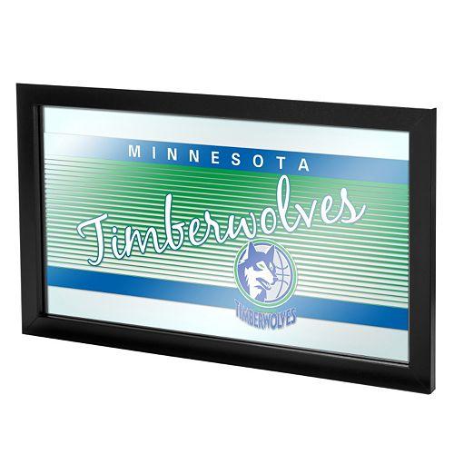 Minnesota Timberwolves Hardwood Classics Framed Logo Wall Art