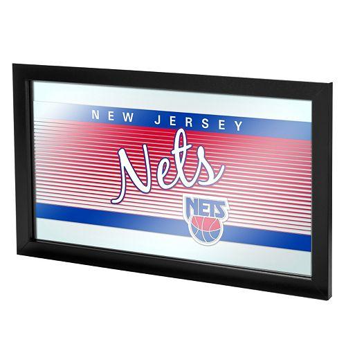 New Jersey Nets Hardwood Classics Framed Logo Wall Art