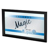 Orlando Magic Hardwood Classics Framed Logo Wall Art