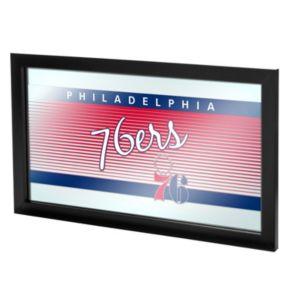Philadelphia 76ers Hardwood Classics Framed Logo Wall Art