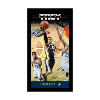 "Steiner Sports Utah Jazz Trey Burke 10"" x 20"" Player Profile Wall Art"