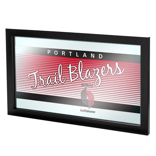 Portland Trail Blazers Hardwood Classics Framed Logo Wall Art