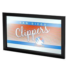 San Diego Clippers Hardwood Classics Framed Logo Wall Art